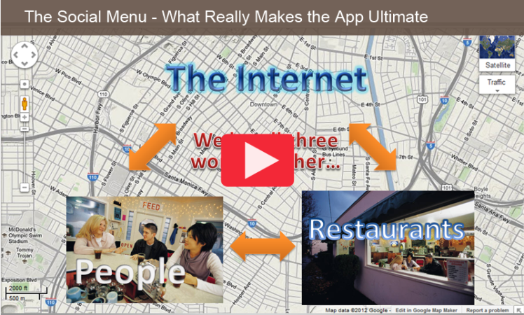 POSTER The Social Menu - What Really Makes the App Ultimate
