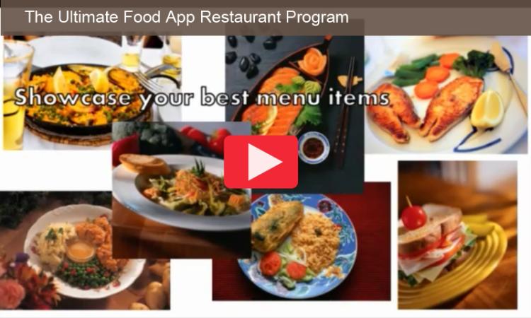 POSTER Ultimate Food App Restaurant Program v 1